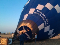 Наполнение воздушного шара