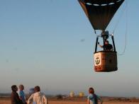 Взлет воздушного шара SOVA