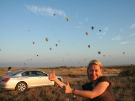 Небо в таком количестве воздушных шаров впечатляет!
