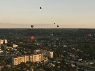 Воздушные шары над Васильковым