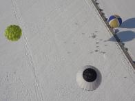 Зимний полет на воздушном шаре в Болгарии
