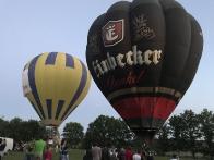 """Общий старт воздушных шаров на фестивале «Aerobis Balloon Fiesta"""""""