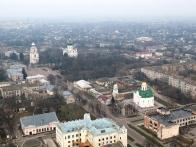 полет на шаре в Переяславе-Хмельницком