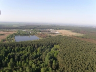 полет на воздушном шаре в Переяславе-Хмельницком