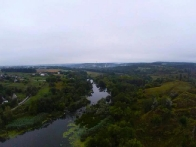 Полет на воздушном шаре в Богуславском районе