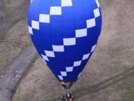 Воздушный шар перед взлетом