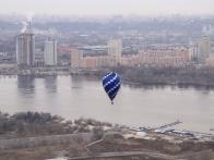 Полет воздушного шара. Киев