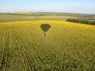 Полет на воздушном шаре в Донецке