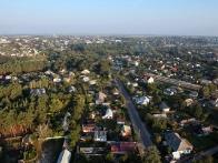 полет на воздушном шаре над Коростышевом