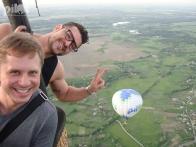 Полет на воздушном шаре это всегда позитив и море впечатлений!