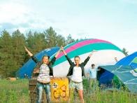 Полет на воздушном шаре - это яркое и красочное зрелище.