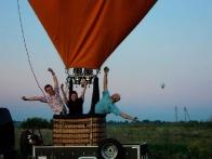 Полет на шаре – это удивительное приключение ;)