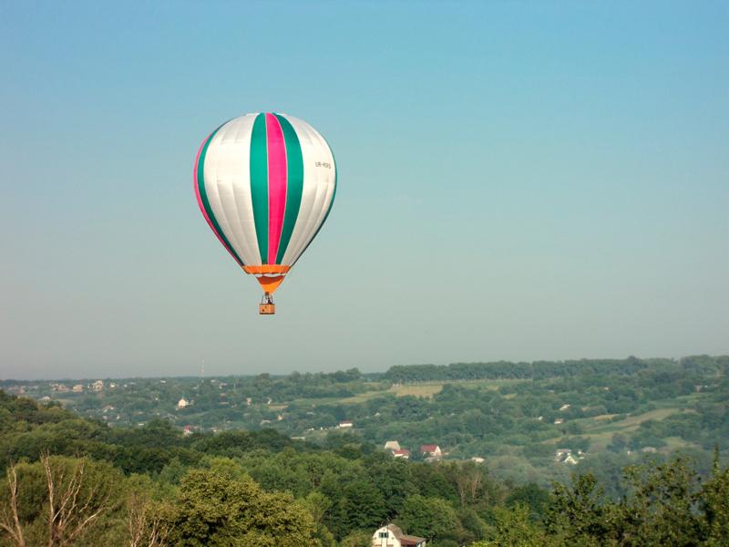 Подарок впечатление полет на воздушном шаре 13