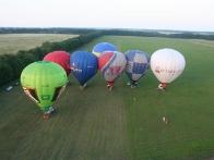 Общий старт воздушных шаров