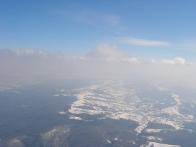 Полет на воздушном шаре в окрестностях Львова