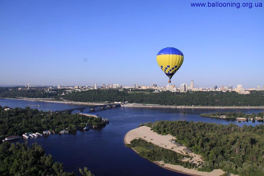 Полеты на воздушных шарах над киевом
