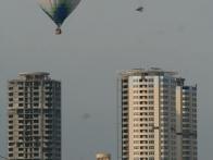 Полет на воздушном шаре над Оболонью