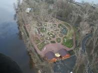 Киев в миниатюре. Вид с воздушного шара