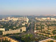 Киев с высоты птичьго полета
