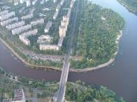 Полет на воздушном шаре над Киевом