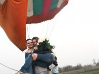 Ведь так романтично услышать признание, находясь в нескольких километрах от земли - на большом воздушном шаре! www.ballooning.org.ua
