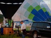 Воздушные шары на старте