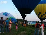 Общий старт воздушных шаров (тепловых аэростатов)