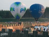 Воздушные шары над Парком Киевская Русь