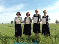 Участницы проекта «Від пацанки до панянки»
