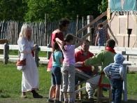 Развлечения в парке Киевская Русь