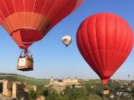 Воздушные шары над крепостью
