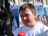 Директор фестиваля - Алексей Пархоменко
