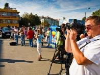 Открытие фестиваля собрало огромное количество СМИ
