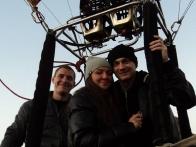 Полет на воздушном шаре с Владом Ямой