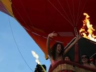 День Рождение Инны Цимбалюк на воздушном шаре