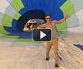 Саша Педан на воздушном шаре