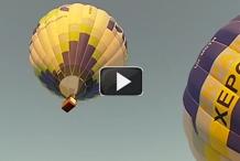 Интер. Полеты на воздушных шарах во время фестиваля