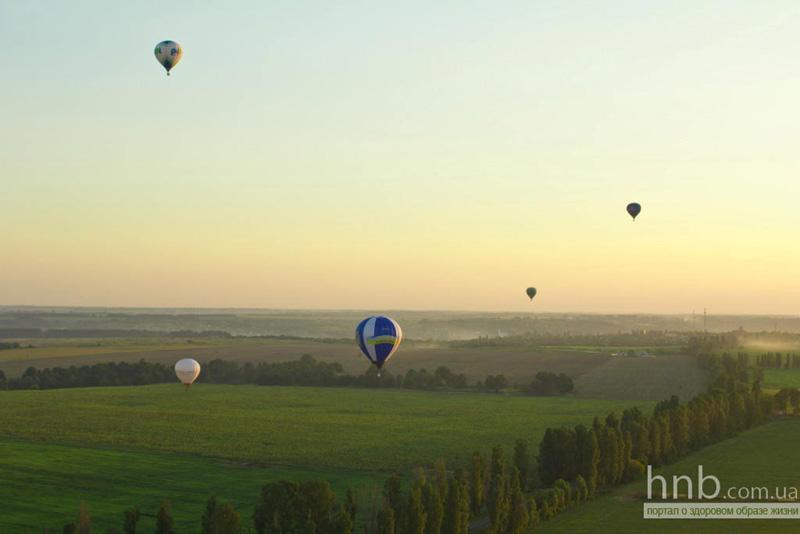 """Фестиваль воздушных шаров """"Воздушные приключения"""""""