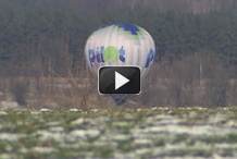 1+1. Землю под Киевом освятили с воздушного шара