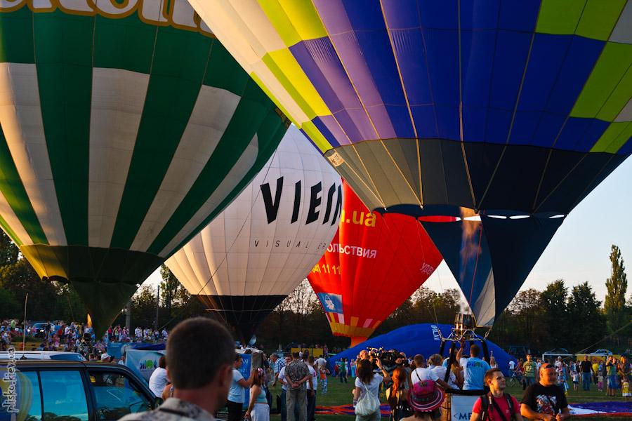 """Фестиваль воздушных шаров """"Воздушные приключения 2011"""""""