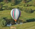 Полет на воздушном шаре прекрасен в любое время года