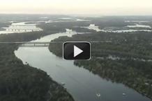 Полет на воздушном шаре над Киевом. Видео.