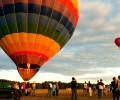 "Воздушные шары на фестивале ""Квітуче поле, Барвисте небо"""
